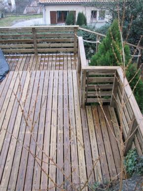 r 233 alisation de terrasses en bois massif
